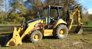 2008 Caterpillar 420E Backhoe Extend-A-Hoe (4x4)