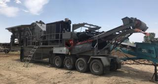 2015 Inertia 5066 Hawk Portable Impact Crusher