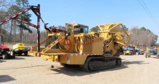 2001 Trencor 860B Saw-Type Trencher